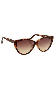 Gafas de sol estilo ojo de gato clásicas Luxe