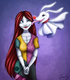 *SALLY & ZERO ~ The Nightmare Before Christmas