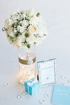 Lighted floral DIY bridal shower bling