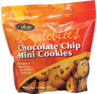 Pamela's Products Gluten and Wheat Free Simple Bites Cookies Chocolate Chip