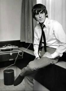 George Harrison was such a babe!