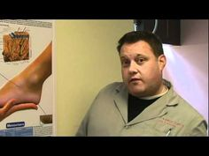 Heel Pain, Plantar Fasciitis.mp4 Video on Youtube from Foot and Ankle Clinics of America. www.FootExperts.com