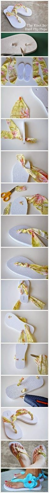 My DIY Projects: Easy Way To Make a Flip Flops