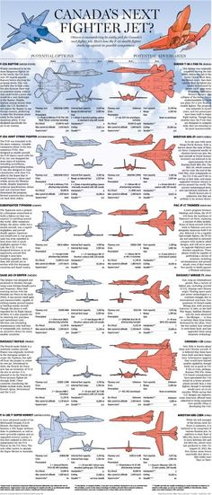 Canada's Next Fighter Jet Grpahic from The Aviationist Blog - December 2012