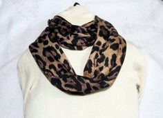Girls or Ladies Infinity scarf circle scarf cowl by sewinggranny, $15.00