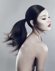 Tom Ford Controversial Ads | 40 Bold Red Lip Looks - From Luscious Dripping Lipstick to Luscious ... hair colors, halloween hair, ell vietnam, red lips, beauti, xi sinsong, beauty, asian makeup, style fashion
