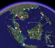 live satellite map