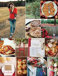 Apple Orchard Fall Inspiration | Camille Styles. I am so in love with this!!