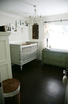 Real Nursery: White Vintage Haven For an Adopted Addition