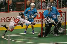 Beauty shot!  The Rochester Knighthawks need a win Saturday night against the Philadelphia Wings in order to host their first playoff game since 2007. (Photo Credit: Larry Palumbo)