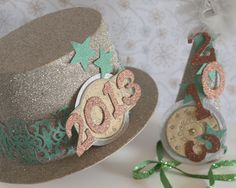 Sparkly Hats to Celebrate the New Year