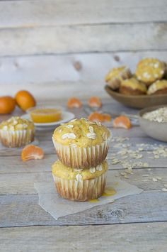 Clementine and Oat Muffins    thefirstyearblog.com