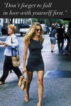 Carrie Bradshaw always knows...