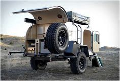 The Moby1 XTR Expedition Trailer is Made for an Outback Adventure #camping #outdoors trendhunter.com