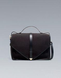 Canvas City Bag, Zara