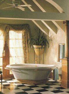 Love the retro tub