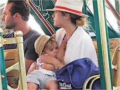Famous Feeders: Beautiful Pics of Celebrity Moms Breastfeeding