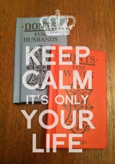 keep calm about your life!