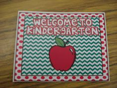 Free welcome postcards prek-5th