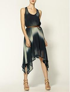 Hive & Honey Ombre Belt Dress | Piperlime