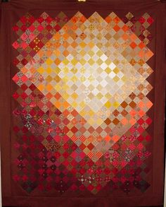 A Warm Place by Linda Rotz Miller Quilts & Quilt Tops, via Flickr