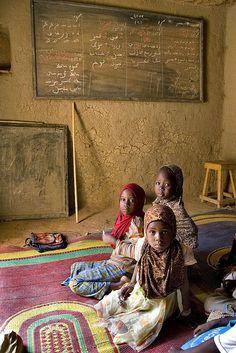 Koranic School - Touareg Village - Africa