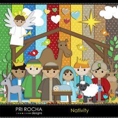 ISO Nativity Kits - DigiShopTalk Digital Scrapbooking
