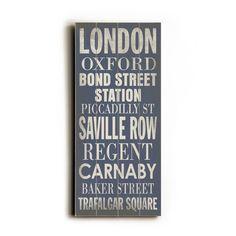 london transit sign for @elaina samardzija | flavour