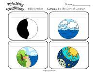 Bible story timeline cards...