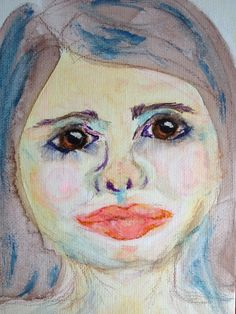 Georgie #watercolor 1 - c2014