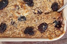 Make Once, Eat-All-Week Baked Oatmeal Recipes | Baked Oatmeal With Blackberries and Coconut