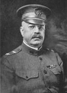 """Joseph Theodore Dickman (Oct 6, 1857 – Oct 23, 1927) was given command of 3rd Infantry Division in 1917, at onset of World War I. He deployed to France and was the 3rd Division Commander at Chateau-Thierry in May 1918 and was made famous at the Second Battle of the Marne in July 1918. While allied forces on both flanks retreated, the 3rd Division stood fast in the face of fantastic enemy offensives, which led to their moniker, """"The Rock of the Marne."""""""