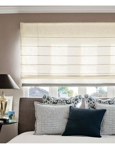 From Smith & Noble. custom window, shades, classic roman, window curtains, window treatment, window shade, window blind, photo galleries, curtain photo