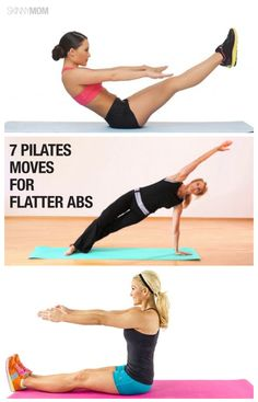 Get in shape with these 7 pilates moves.