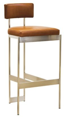 Alto-stool-by-powell-bonnell-stools-bronze-leather