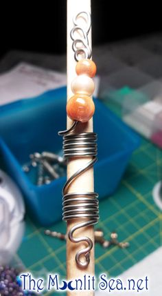 Coilz  Loc Jewelry / Hair Jewelry for Locs by themoonlitsea, $8.00  https://www.etsy.com/shop/themoonlitsea