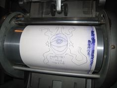 Ditto machine--duplicated in purple and then you had to SMELL the ink!