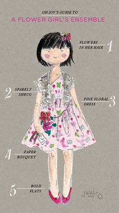 Oh Joy's Guide to a Flower Girl Ensemble