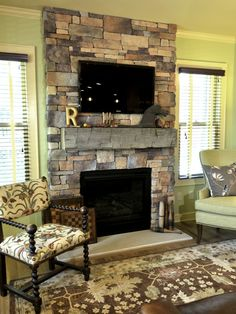 Tv Above Fireplace Design, Pictures, Remodel, Decor and Ideas - page 54