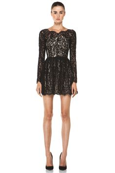 Lover Millie Lace Dress in Black