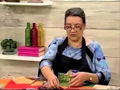 Programa Arte Brasil - Caminho de Mesa e Variação com tecidos Eva e Eva