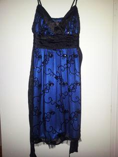 Pretty lace over blue.  Google Image Result for http://1.bp.blogspot.com/-oUUwWxB_5Vs/T9-uBrJ6oOI/AAAAAAAAAS8/8L5gwdW15oY/s1600/20120107_124301.jpg