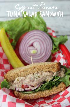 Copycat Panera Tuna Salad Sandwich http://www.raininghotcoupons.com/copycat-panera-tuna-salad-sandwich/