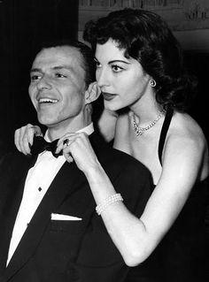 Black Tie, Frank Sinatra and Ava Gardner (via)