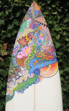 James has gotten me into long boarding, maybe I'll pick up surfing too :) and this will be my board if I ever invest...