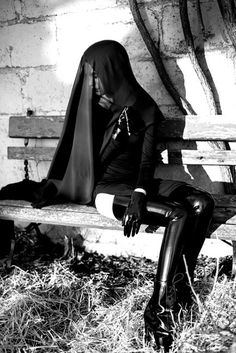Nunsploitation, via Danny Deluxe Latex Couture † #fetish #fetishfashion #blackandwhite #latex #rubber #supatex #nun #nunshabit #nunsploitation #DannyDeluxe