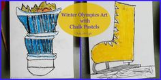 Winter Olympics Art With Chalk Pastels & Other Olympic Resources - StartsAtEight