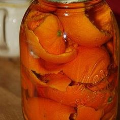 Quick Orange Peel Vinegar Cleaner:   Orange peels, vinegar in a quart jar, let sit for 10 days or so…strain out the liquid and use as an all-purpose cleaner. Easy, cheap, natural, smells good!