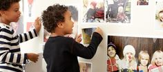Turn your favorite photos into wall decals for an ever-changing gallery wall.