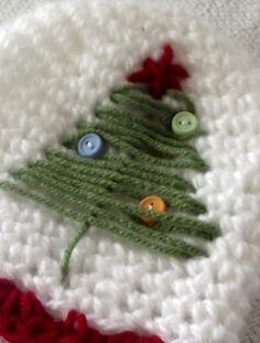Crochet Pattern Christmas Tree Hat. $3.99, via Etsy.
